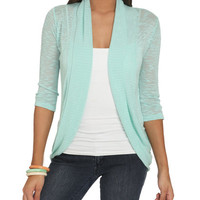 Slub Knit Wrap | Shop Tops at Wet Seal