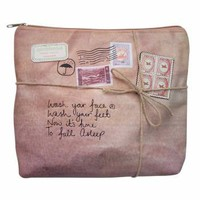 Paper Plane Wash Bag - Gifts For Her from the gifted penguin UK
