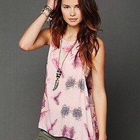 One Teaspoon   On The Drape Tie Dye Tank at Free People Clothing Boutique
