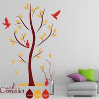 Abstract Tree Decal - Tree Wall Decal