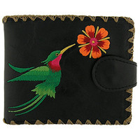 LAVISHY Hummingbird vegan medium wallet