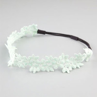 FULL TILT Crochet Flower Headband 217951523 | Hair Accessories  | Tillys.com