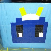 Men&#x27;s Bi-Fold Wallet - Robot in Blue from theecomaker
