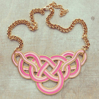 Pree Brulee - Cotton Candy Necklace