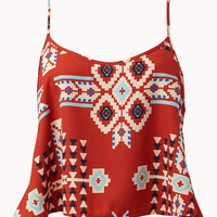 Ganado Print Trapeze Top