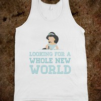 Looking For A Whole New World (Tank) - hopealittle tee's - Skreened T-shirts, Organic Shirts, Hoodies, Kids Tees, Baby One-Pieces and Tote Bags