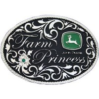 Amazon.com: John Deere Farm Princess Belt Buckle: Clothing