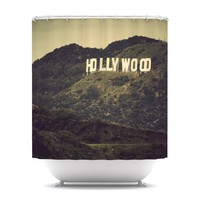 "Catherine McDonald ""Hollywood"" Shower Curtain 