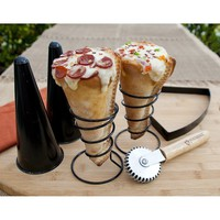 Pizzacraft PC0304 Grilled Pizza Cone Set, 6-Piece