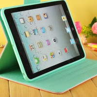 Leather Wallet Case for iPad Mini