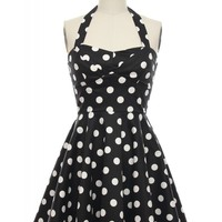 All That Jazz Halter Dress