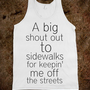 Shout Out to Sidewalks
