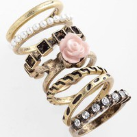Adia Kibur Rings (Set of 7) | Nordstrom