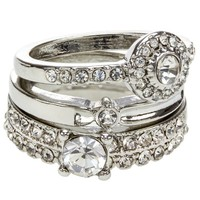 Lipsy Eternity Ring