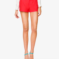 Essential Linen-Blend Shorts | FOREVER21 - 2048584466