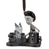 "Amazon.com: Disney / Tim Burton Frankenweenie Christmas Holiday Ornament "" Sparky and Victor "" It Lights up !!! 4 Inches Long 4 Inches Tall: Everything Else"