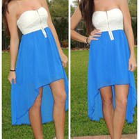 Krissa High Low Dress