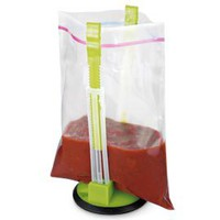 Baggy Rack, Kitchen Zipper Bag Holder, Bag Filling Stand | Solutions
