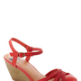 BC Shoes Don't Worry, Be Strappy Wedge in Orchard | Mod Retro Vintage Wedges | ModCloth.com