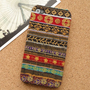 Tribal Stripe Pattern Fabric Phone Case