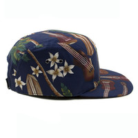 5 Panels Hawaiian Cap