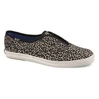 Keds- -Women's Athletic Shoe Champion Laceless Animal - Brown-Shoes-Womens Shoes-Womens Athletic Shoes