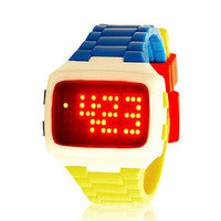 Motion electronics jelly watch