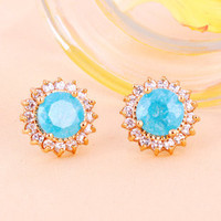 Shiny Rhinestone earrings