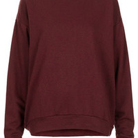 Curve Hem Sweat - Jersey Tops  - Clothing