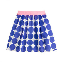 Girls&#x27; giant dot skirt - patterns - Girl&#x27;s skirts - J.Crew