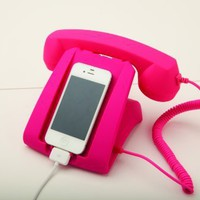 Pink Talk Dock Mobile Device Handset and Charging Cradle:Amazon:Cell Phones &amp; Accessories