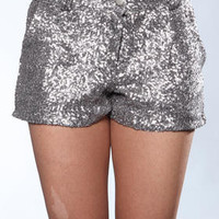 DJPremium.com - Women - Shop by Department - Shorts - Brit Pleated Shorts