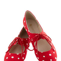 Professor of Pop Flat | Mod Retro Vintage Flats | ModCloth.com