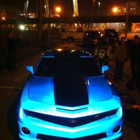 glow in the dark camaro - Google Search