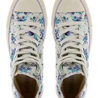 Converse All Star Floral High Top Trainers at asos.com