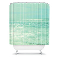 DENY Designs Home Accessories | Lisa Argyropoulos Where Ocean Meets Sky Shower Curtain