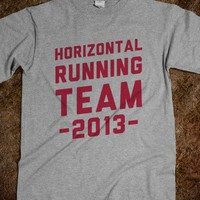 Horizontal Running Team 2013 | Skreened.com