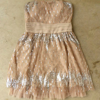 Champagne Fizz Party Dress [3595] - $52.00 : Vintage Inspired Clothing &amp; Affordable Fall Frocks, deloom | Modern. Vintage. Crafted.