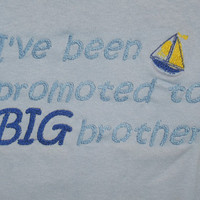 Big Brother T I've been promoted by KikiCloset on Etsy