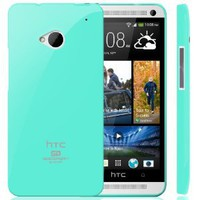 Amazon.com: Goospery Slim Fit Flexible TPU Case for HTC One (M7) - Turquoise / Mint: Cell Phones & Accessories