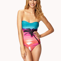 Sunset Graphc Monokini