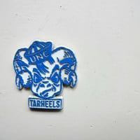Vintage University of North Carolina Tarheels Fridge Magnet