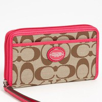 COACH &#x27;Signature&#x27; Universal Phone Case | Nordstrom