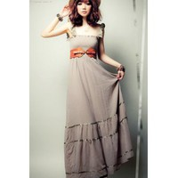 [FREE SHIPPING] Grey Beach Dress
