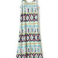 Boho Scoop Neck Dress - OASAP.com