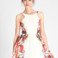Barnet Studded Floral Dress - $68.00 : ThreadSence, Women&#x27;s Indie &amp; Bohemian Clothing, Dresses, &amp; Accessories