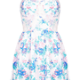 Floral Corset Tunic - Dresses - Clothing - Topshop USA