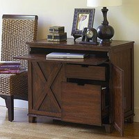 Verona Cabinet Desk | Desks | World Market