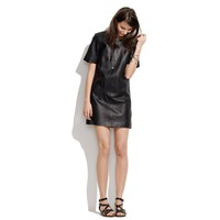 Won Hundred Leather Bio Dress - dresses &amp; skirts - Women&#x27;s NEW ARRIVALS - Madewell
