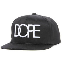 DOPE The Dope Logo Snapback Hat in Black : Karmaloop.com - Global Concrete Culture